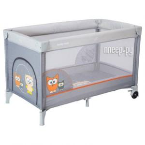 Купить Манеж-кровать Baby Mix Sowa Grey