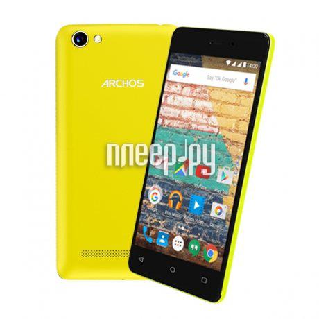 Сотовый телефон Archos 45d Platinum Black-Yellow