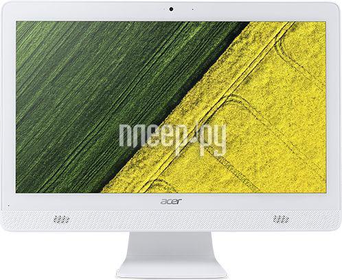 Моноблок Acer C20-720 White DQ.B6XER.006 (Intel Celeron J3060 1.67 GHz / 4096Mb / 500Gb / DVD-RW / Intel HD Graphics / Wi-Fi / Bluetooth / Cam / 19.5 / 1600x900 / DOS)