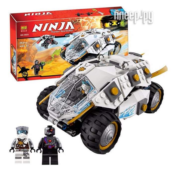 Конструктор Bela Ninjago Титановый Вездеход 362 дет. 10523