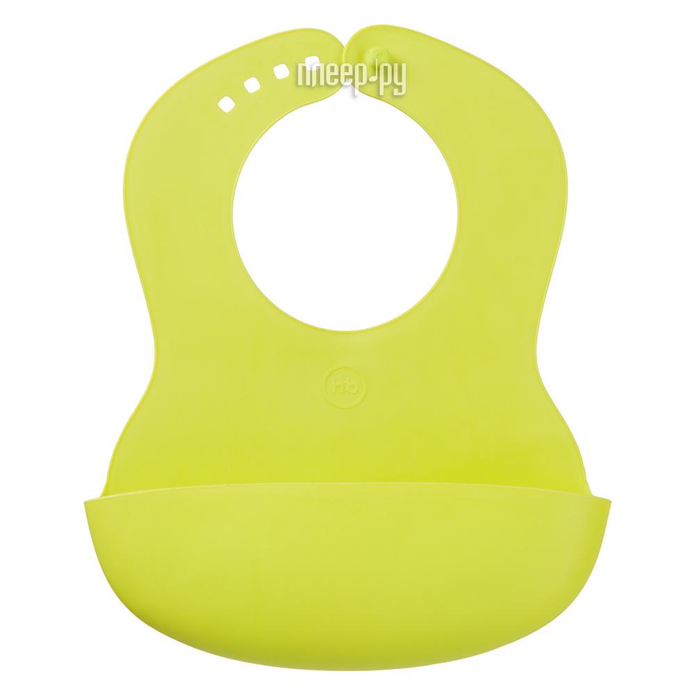 Слюнявчик Happy Baby Soft Childrens Bib Lime 16000 4690624008696