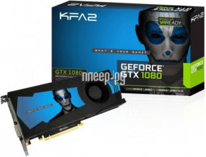 Купить Видеокарта KFA2 GeForce GTX 1080 1607Mhz PCI-E 3.0 8192Mb 10000Mhz 256 bit DVI HDMI HDCP White 80NSJ6DHK5VK 7122885