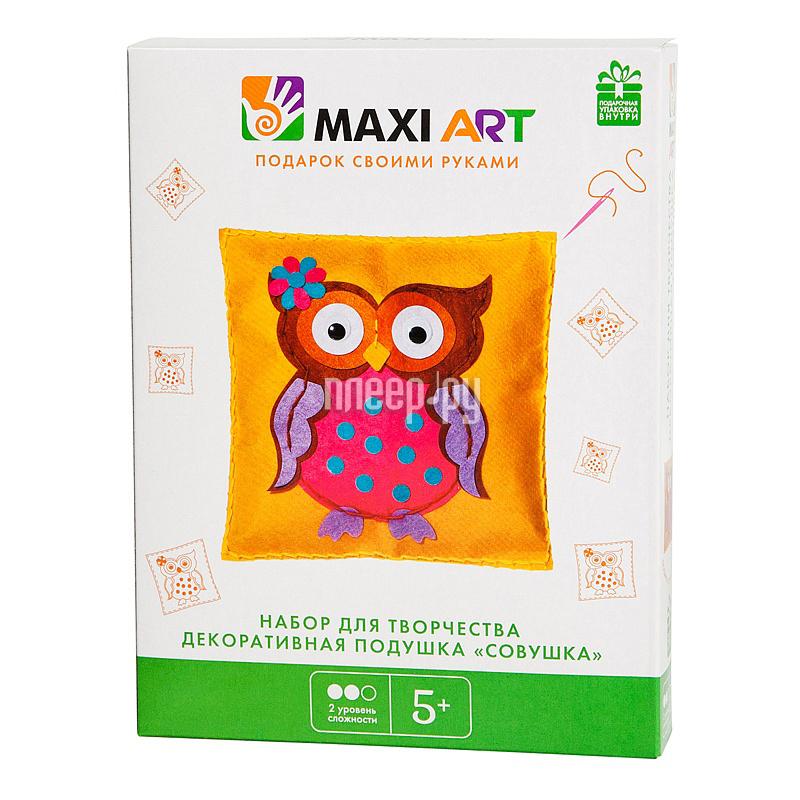 Набор Maxi Art Декоративная подушка Совушка MA-A0085