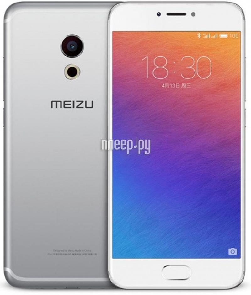 Сотовый телефон Meizu Pro 6 Plus 64Gb Silver-White