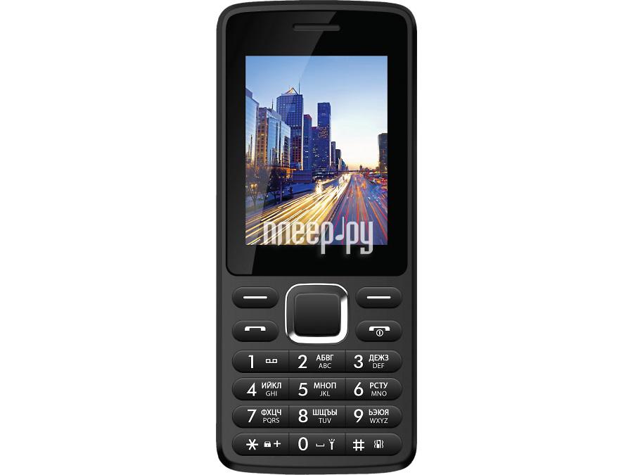 Сотовый телефон Vertex D518 Black