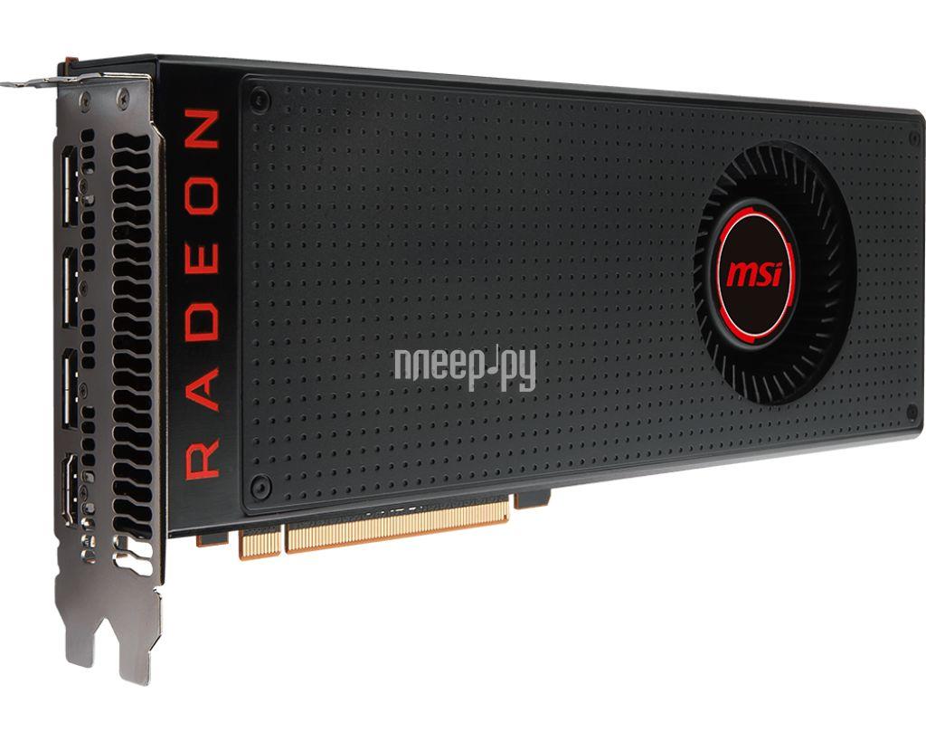 Видеокарта MSI RX Vega 64 1247hz PCI-E 3.0 8192Mb 945Mhz 2048 bit 3xDP HDMI HDCP RX VEGA 64 8G за 46171 рублей