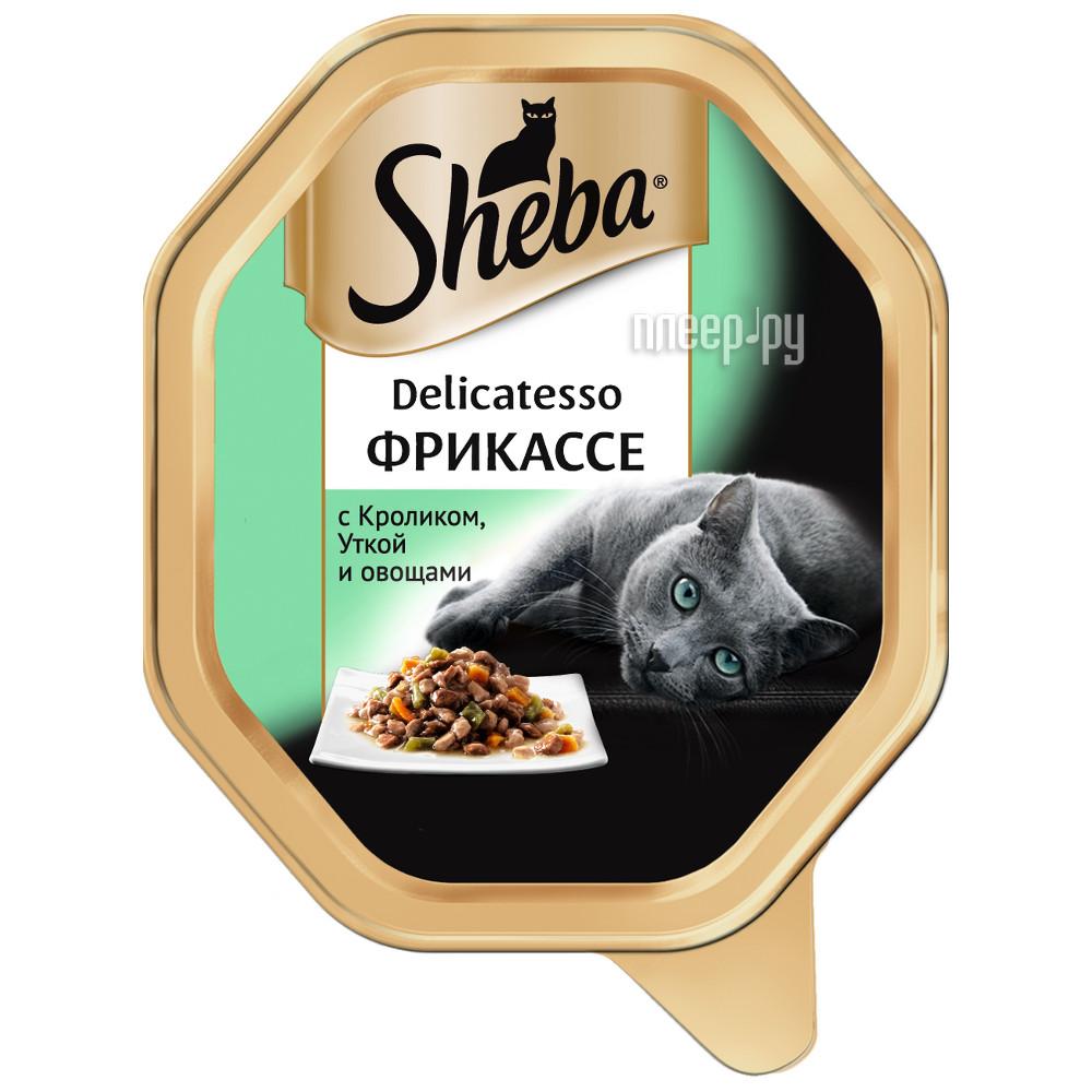 Корм Sheba Delicatesso Кролик / Утка / Овощи 85g 10169410