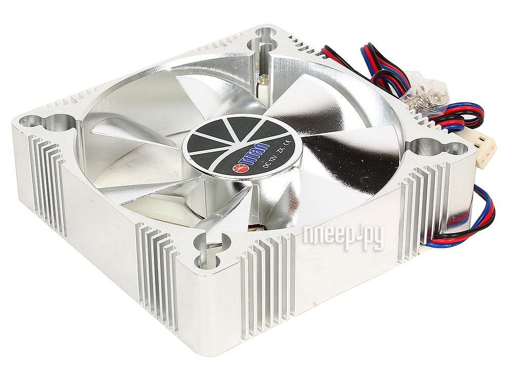 Вентилятор TITAN TFD-A9225L12Z(RB) 92x92x25mm (z-axis 3-PIN 1800 RPM < 22 dBA) Aluminum Frame Fan