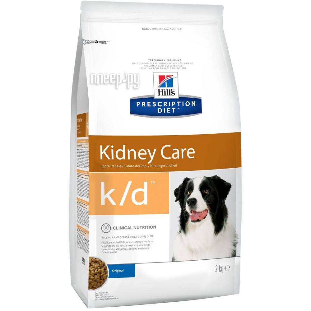 Корм Hills K / D Полноценный Диетический рацион при заболеваниях почек 2kg для собак 8658