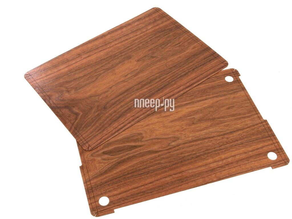 Аксессуар Чехол 15.0-inch iWoodMaster для APPLE MacBook Pro Retina MC975 / MC976 / MD831 / ME664 / ME665 / ME698 / ME293 / ME294 / ME874 / MGXA2 / MGXC2 / MGXG2 / MJLQ2 / MJLT2 / MJLU2 орех американский