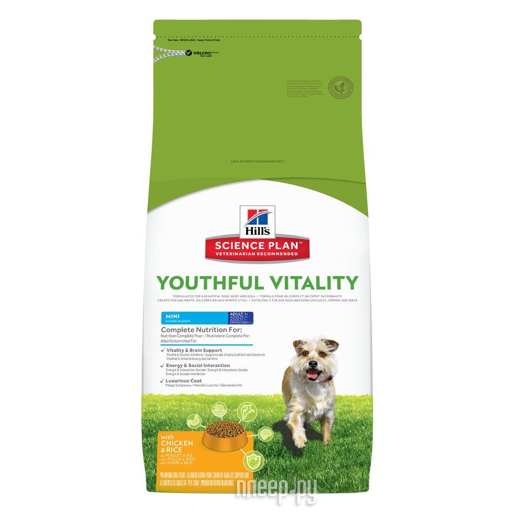 Корм Hills Youthful Vitality Курица 2.5kg для пожилых собак мелких пород 10985