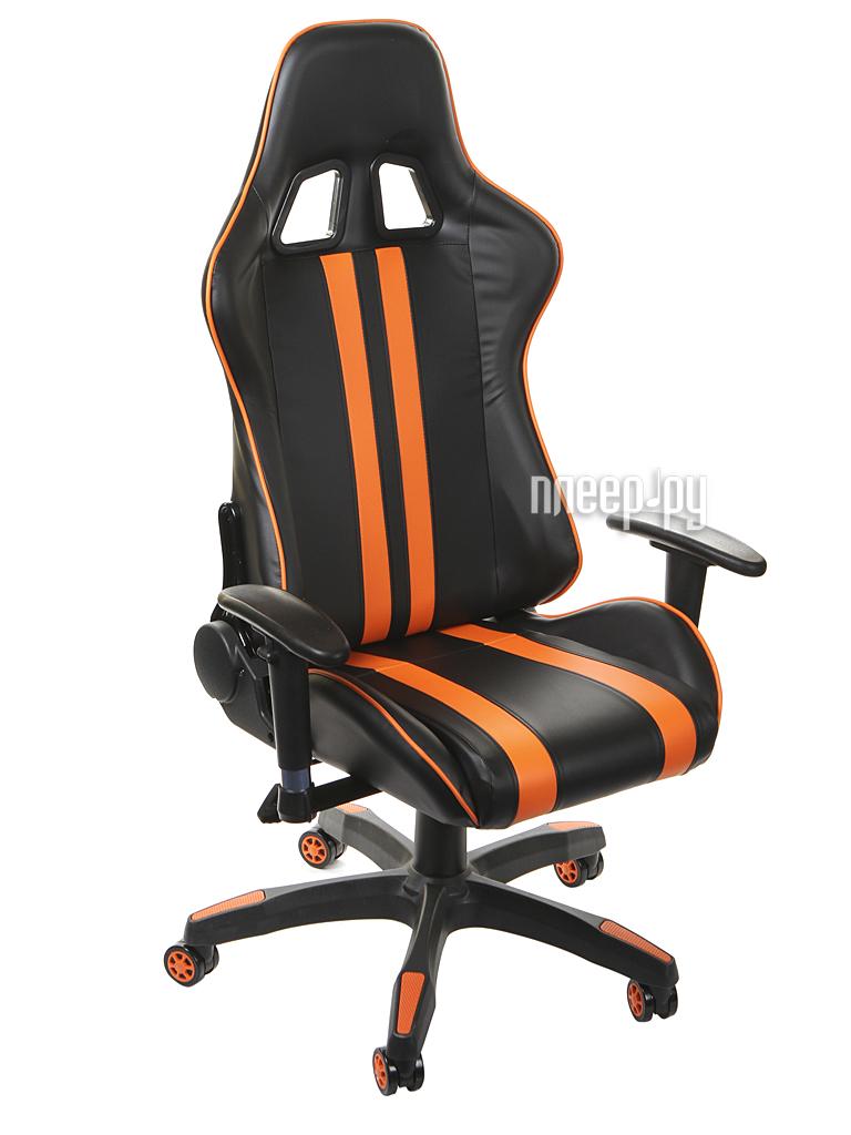 Компьютерное кресло TetChair iCar Black-Orange купить