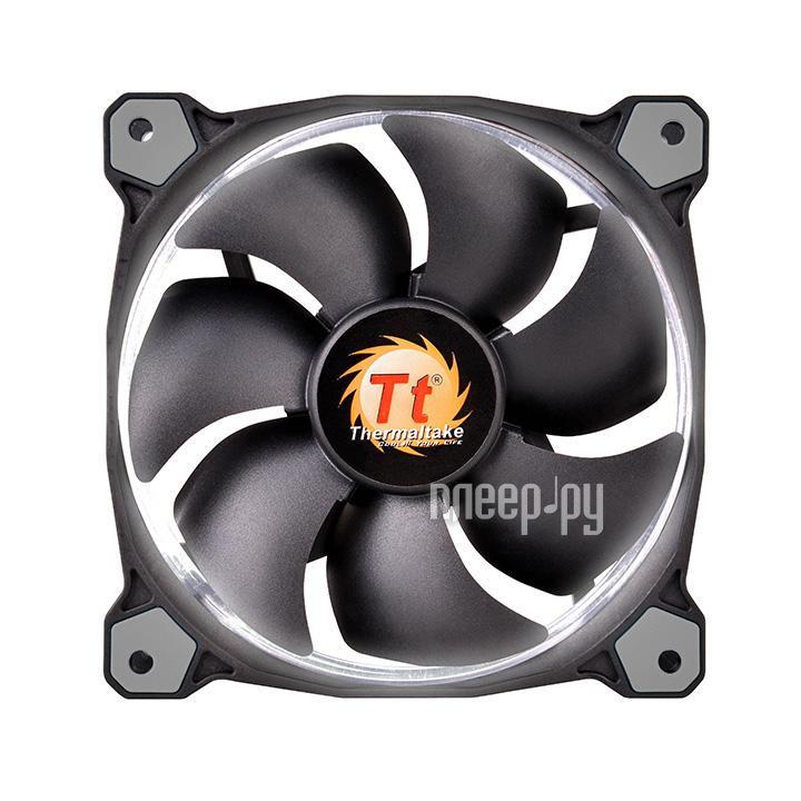 Вентилятор Thermaltake Riing 14 LED 140mm + LNC White CL-F039-PL14WT-A