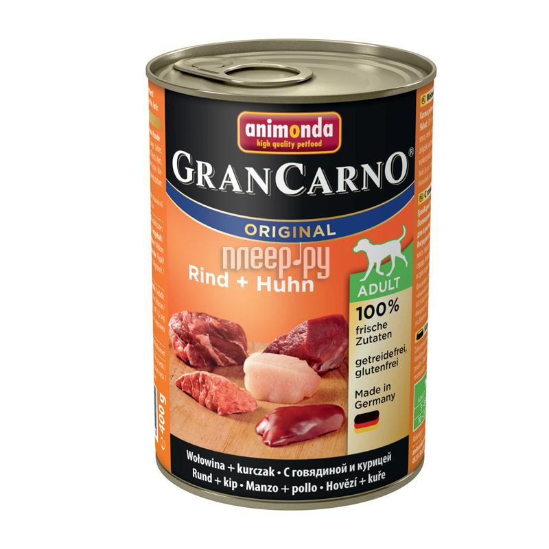Корм Animonda Cran Carno Original Adult Говядина / Курица 400g для взрослых собак 82732
