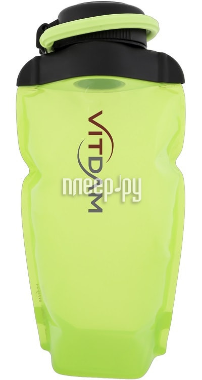 Бутылка VITDAM 500ml Yellowish Green