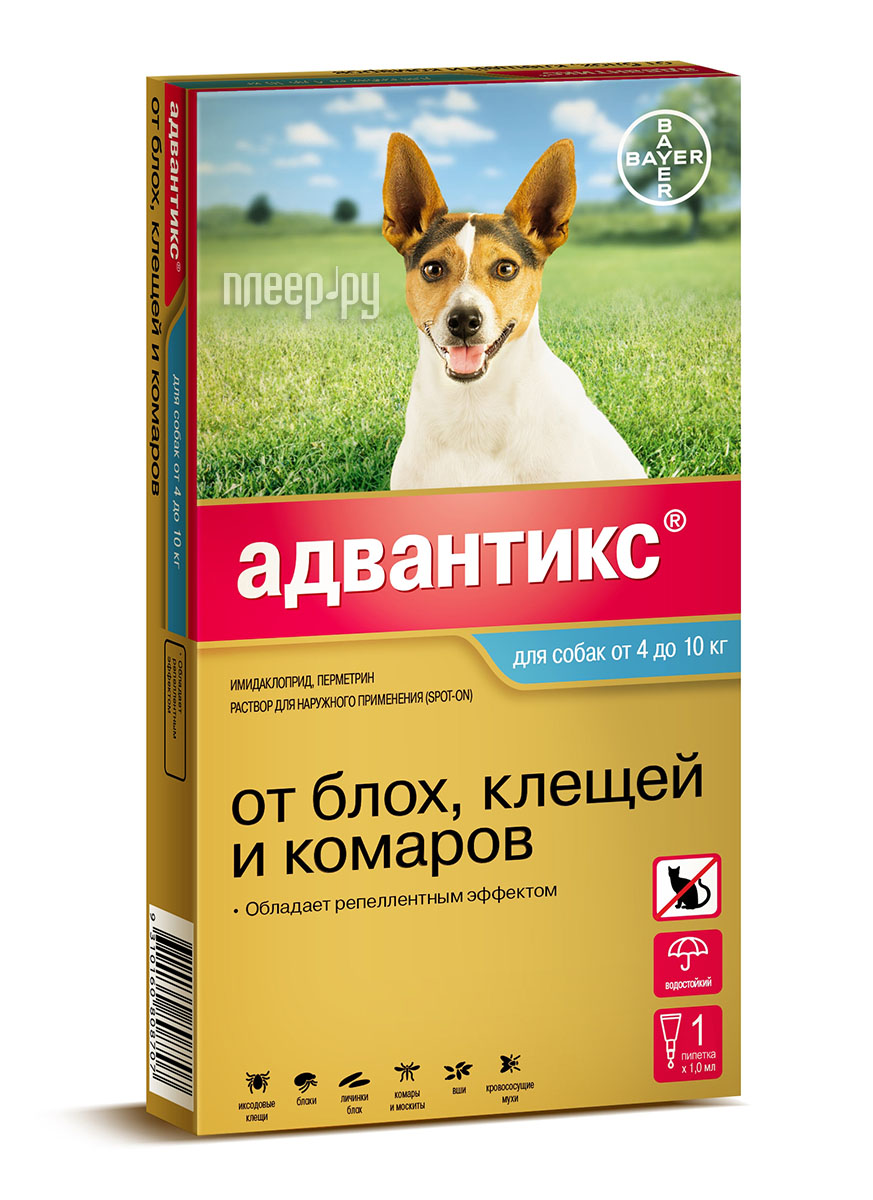 Bayer GL Адвантикс 100С капли для