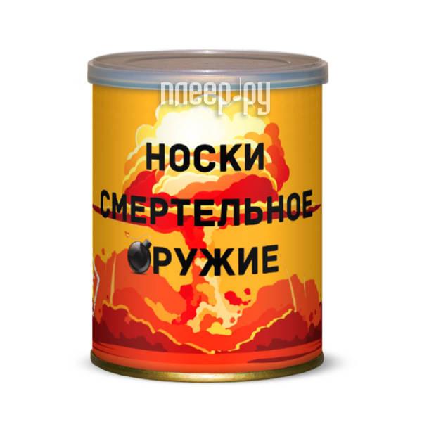 Гаджет Canned Socks Носки смертельное оружие Black 415300 за 197 рублей