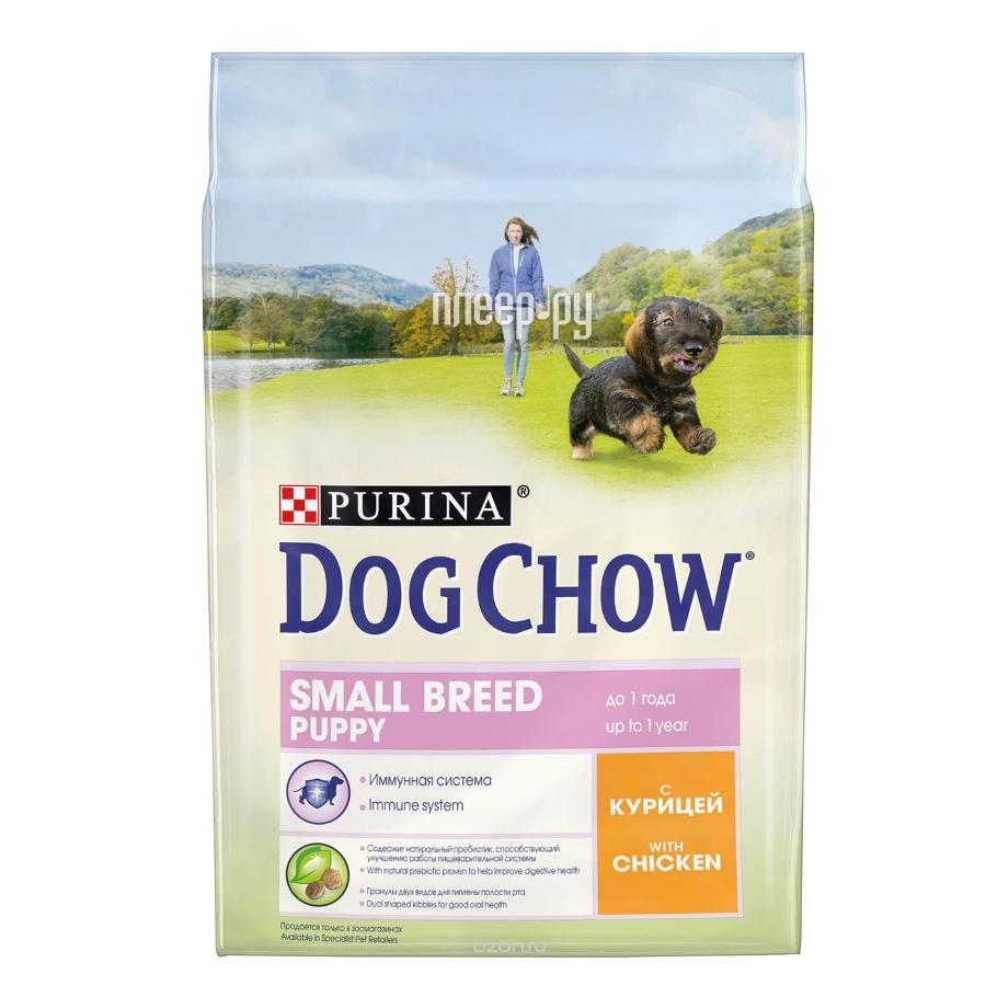 Корм Dog Chow Puppy Курица 800g