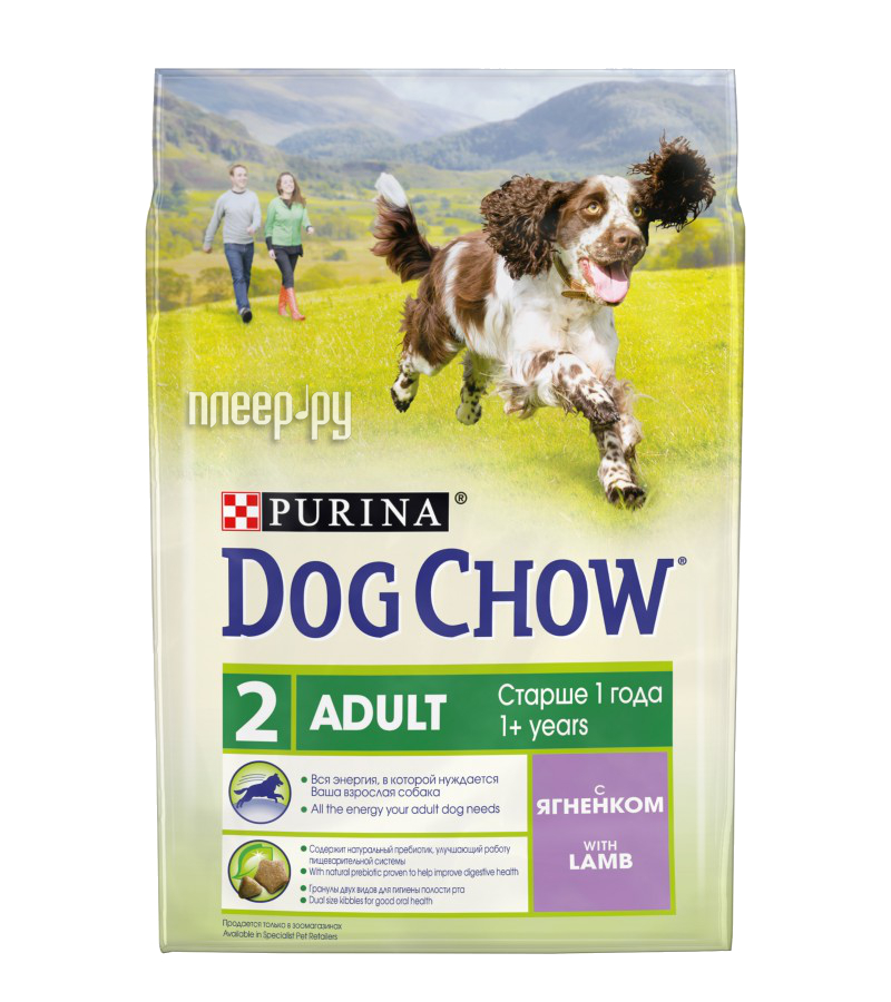 Корм Dog Chow Adult Ягненок 800g для собак 12276249