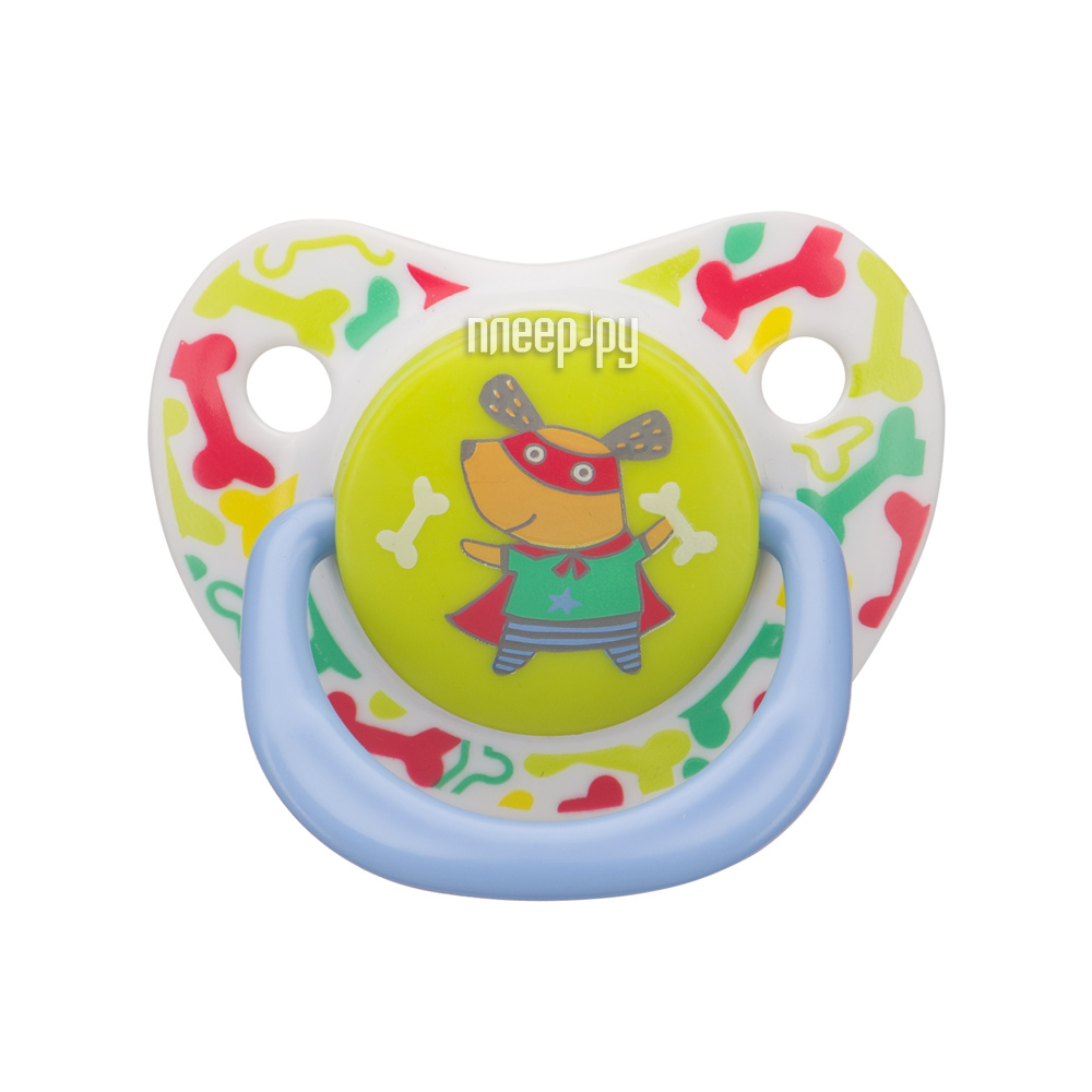 Соска пустышка Happy Baby Soother Natural Dental Dog 13008 / 1