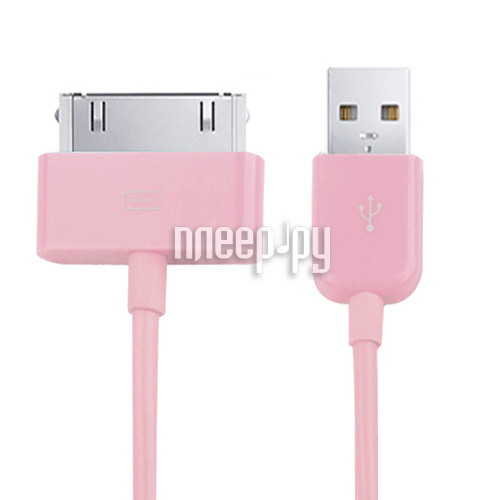 Аксессуар Readyon USB - Lightning 15cm Pink RD-031101 купить