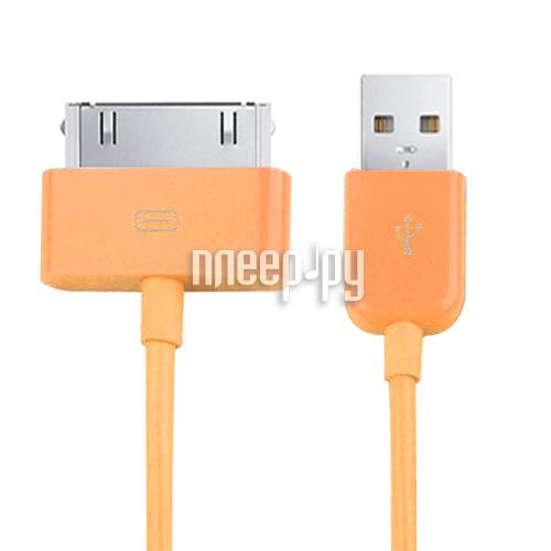Аксессуар Readyon USB - Lightning 15cm Orange RD-030601