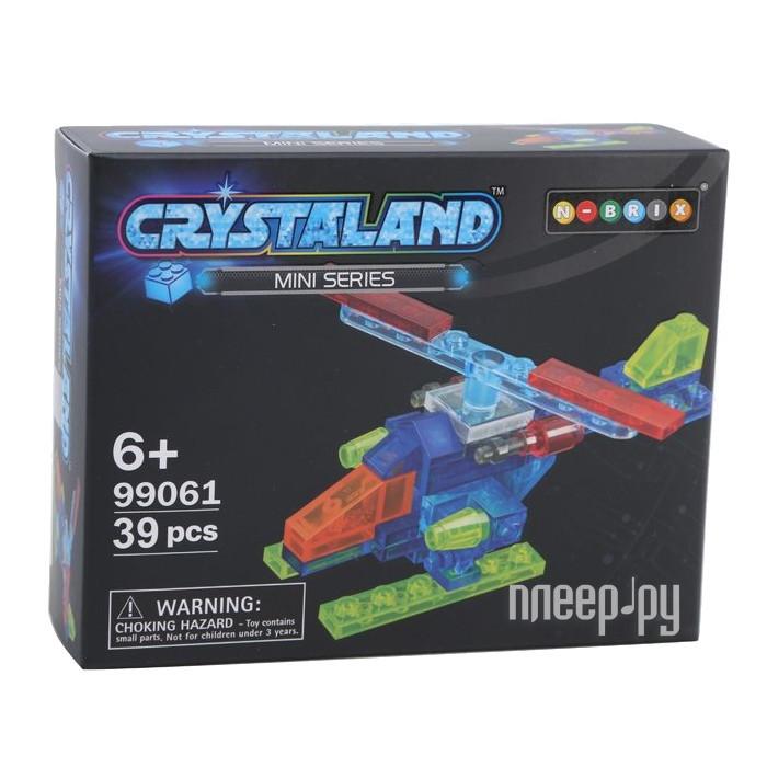 Конструктор Crystaland SHGS002 Мини Самолет 39 дет