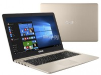 Ноутбук ASUS N580VD-DM069T 90NB0FL1-M04520 Gold (Intel Core i7-7700HQ 2.8 GHz/8192Mb/1000Gb/No ODD/nVidia GeForce GTX 1050 2048Mb/Wi-Fi/Bluetooth/Cam/15.6/1920x1080/Windows 10)