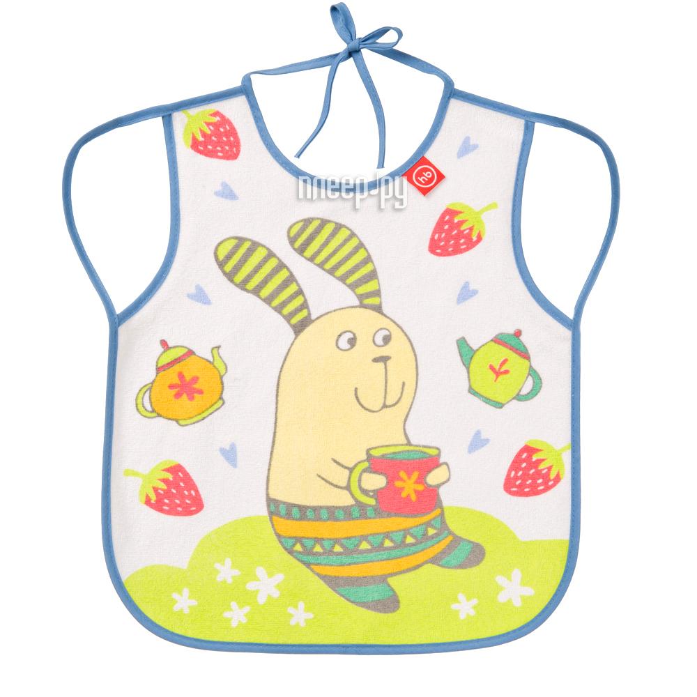 Нагрудный фартук Happy Baby Bib With Hangers Rabit Lilac 16011