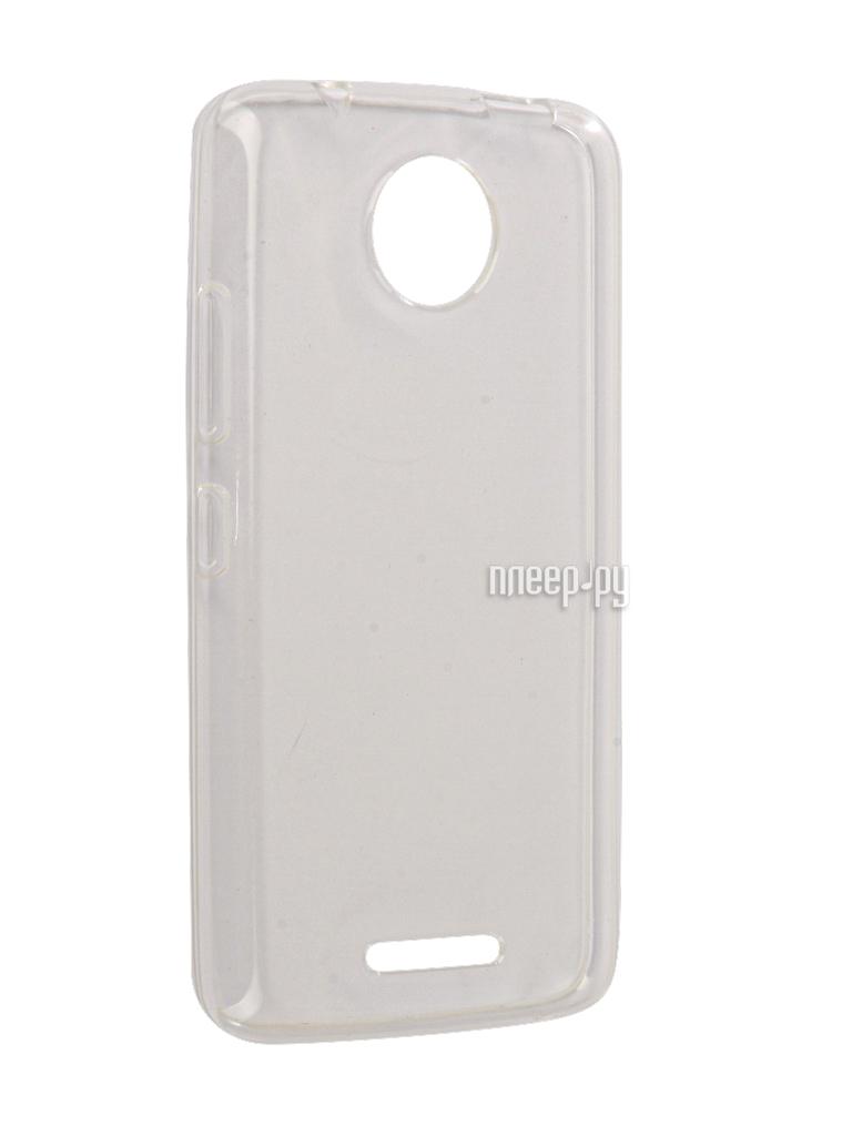 Аксессуар Чехол Motorola Moto C iBox Crystal Silicone Transparent