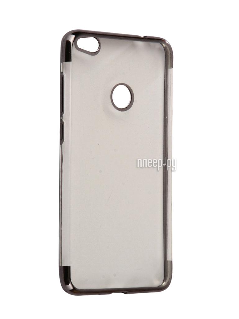 Аксессуар Чехол Huawei Honor 8 Lite iBox Blaze Silicone Black frame