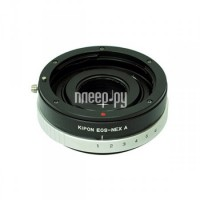 Переходное кольцо Kipon Adapter Ring Canon EOS - NEX with Aperture