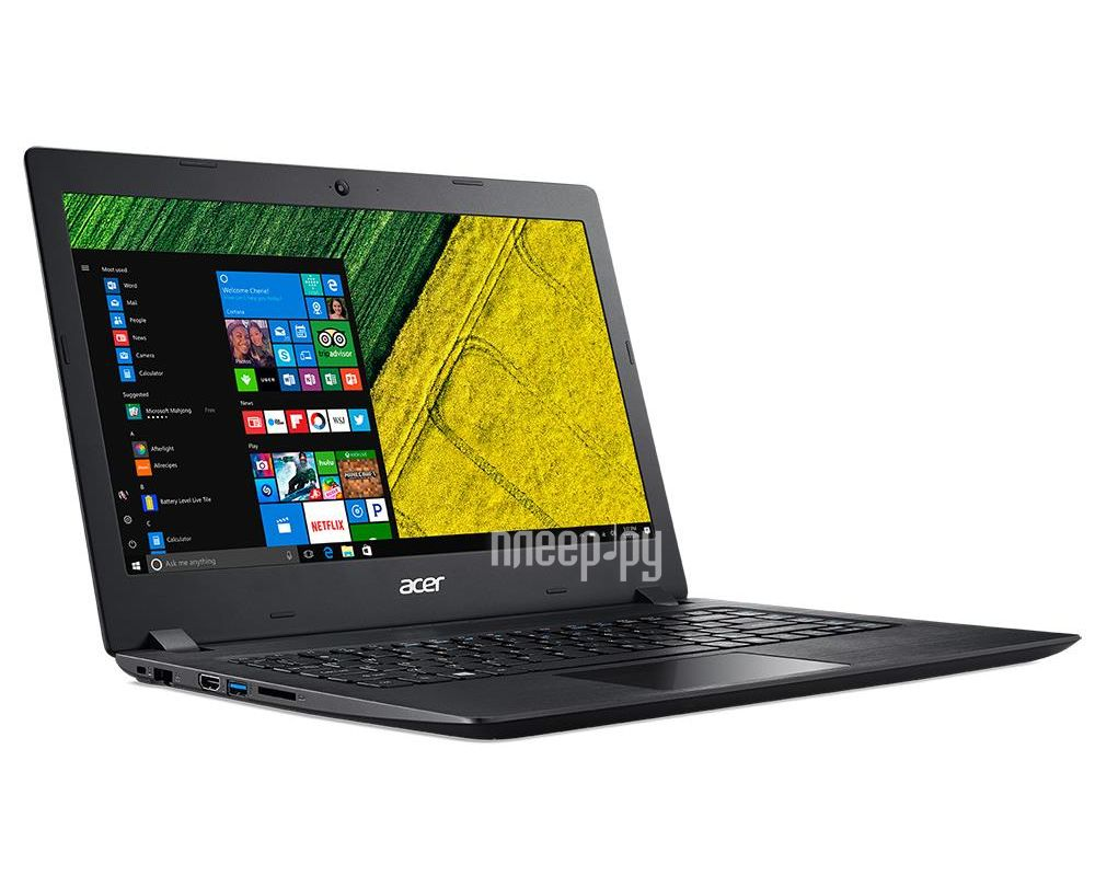 Ноутбук Acer Aspire A315-21G-69WG NX.GQ4ER.002 Black (AMD A6-9220 2.5 GHz / 4096Mb / 500Gb / AMD Radeon 520 2048Mb / No DVD / Gigabit Ethernet / Wi-Fi / Bluetooth / Cam / 15.6 / 1366x768 / Windows 10 64-bit)