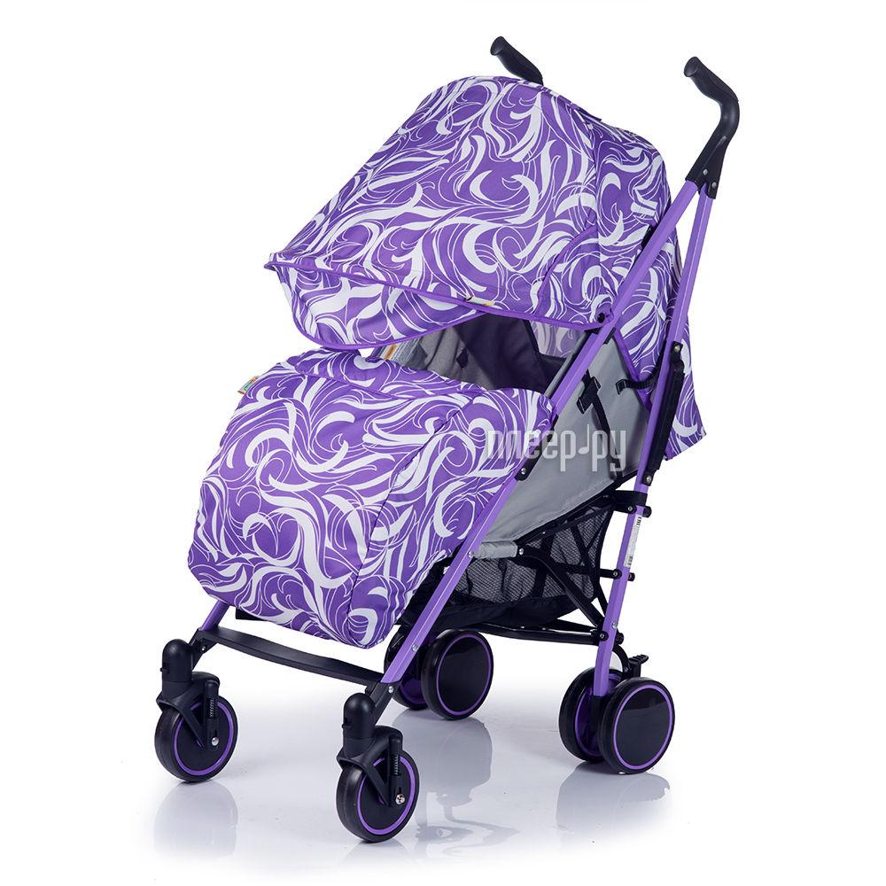 Коляска BabyHit Handy White Lilac 4607159163592 за 4177 рублей