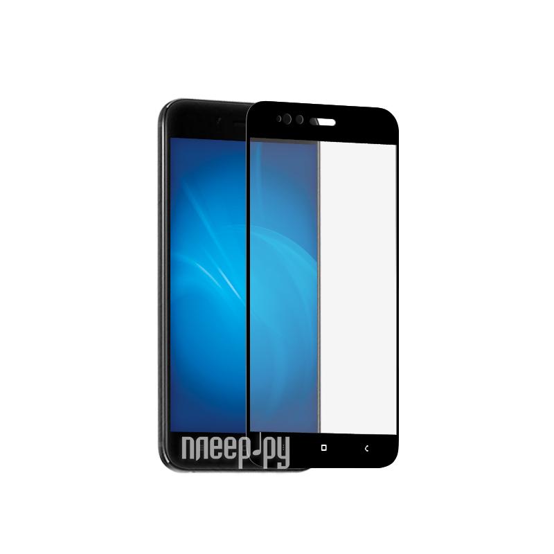 Аксессуар Закаленное стекло Xiaomi Mi 5X DF Fullscreen xiColor-16 Black