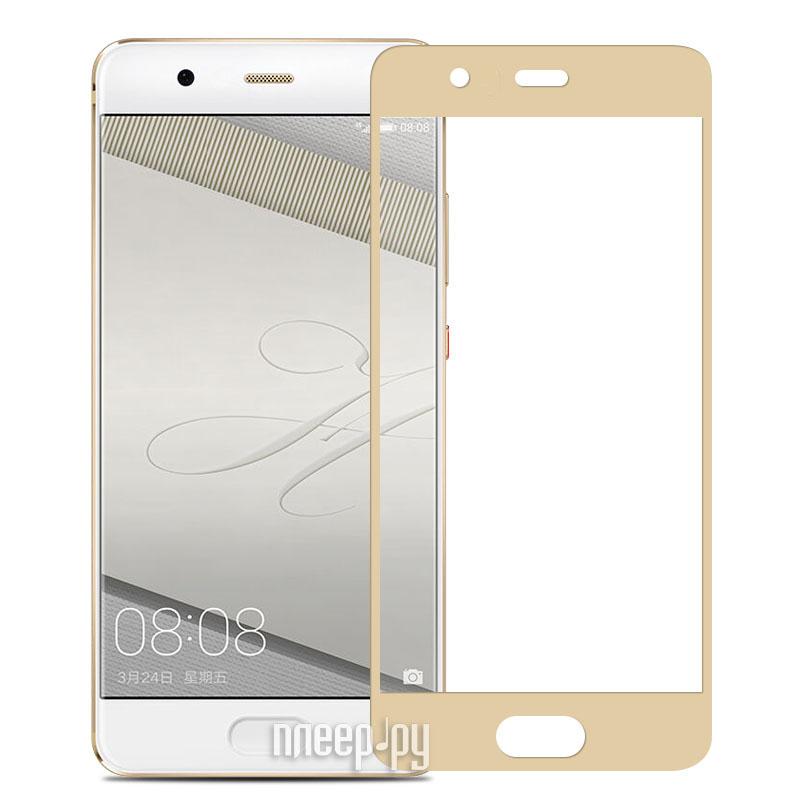 Аксессуар Защитное стекло Huawei Ascend P10 2017 Ainy Full Screen Cover 0.33mm Gold