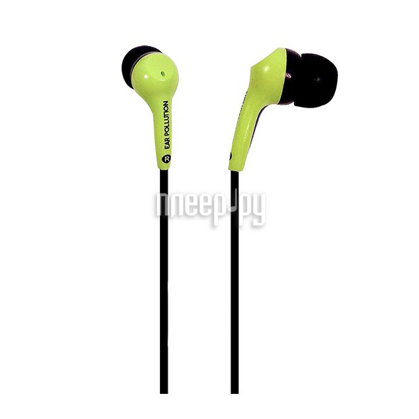 Гарнитура iFrogz EarPollution Green EP-BLT-GRN