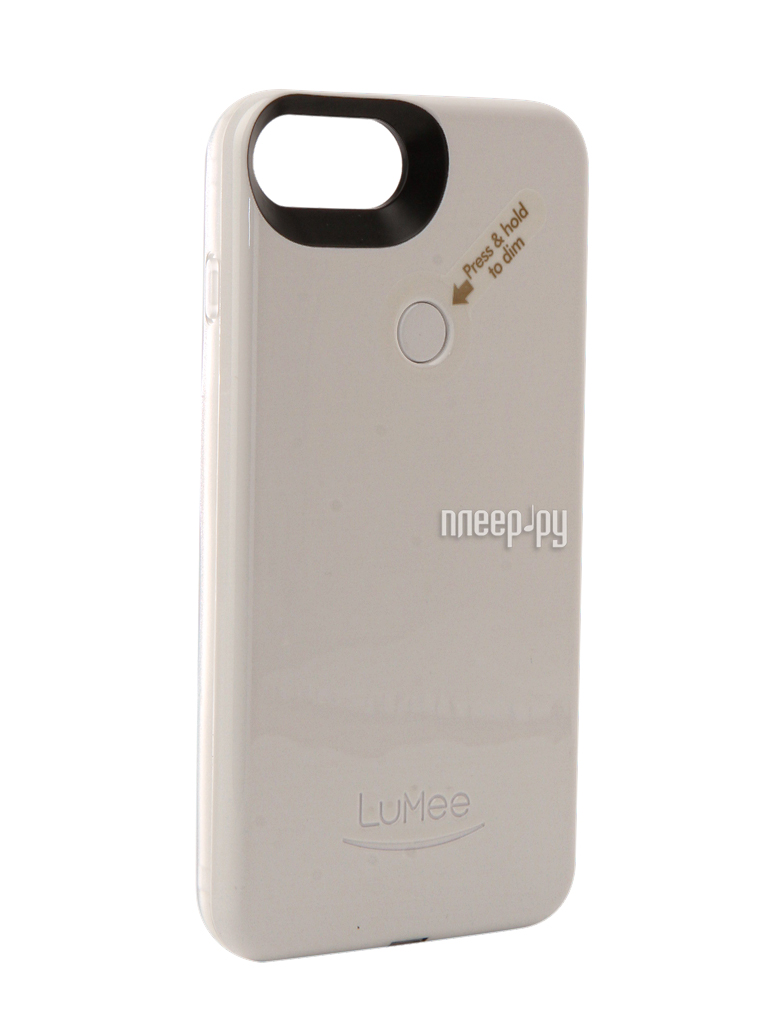 Аксессуар Чехол LuMee TWO для APPLE iPhone 7 Plus White glossy L2-IP7PLUS-WHTGLS