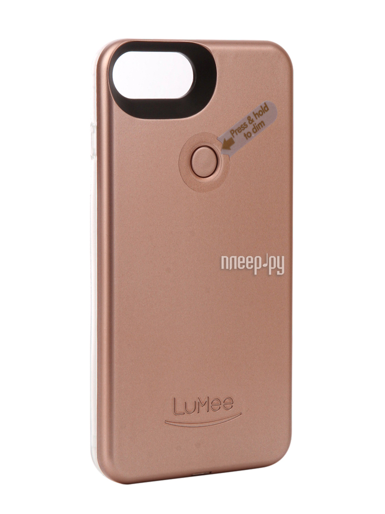 Аксессуар Чехол LuMee TWO для APPLE iPhone 7 Plus Pink matte L2-IP7PLUS-ROSEMT