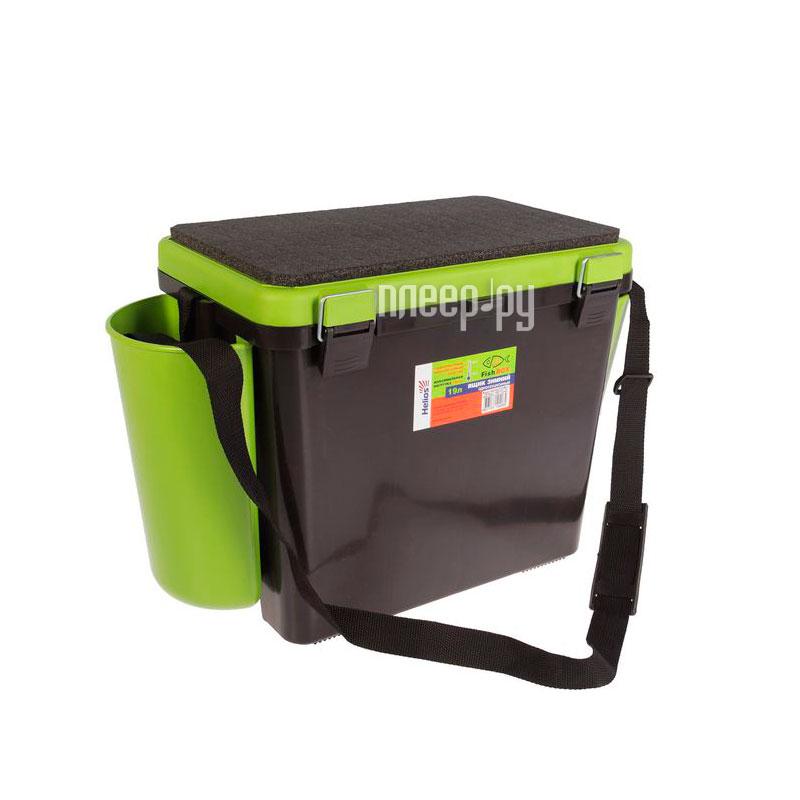 Ящик Helios FishBox односекционный 19L Green
