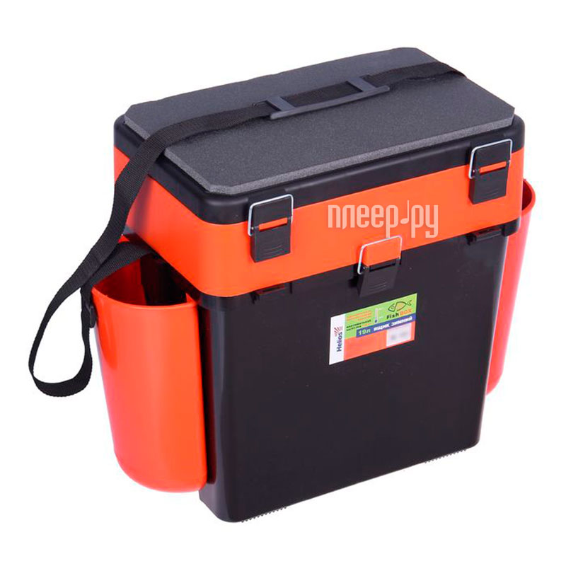 Ящик Helios FishBox 19L Orange