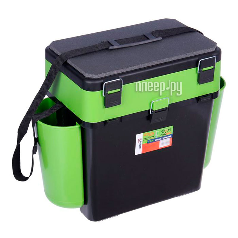 Ящик Helios FishBox 19L Green