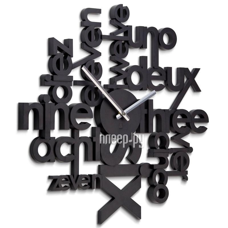Часы Umbra Lingua Black 118990-040