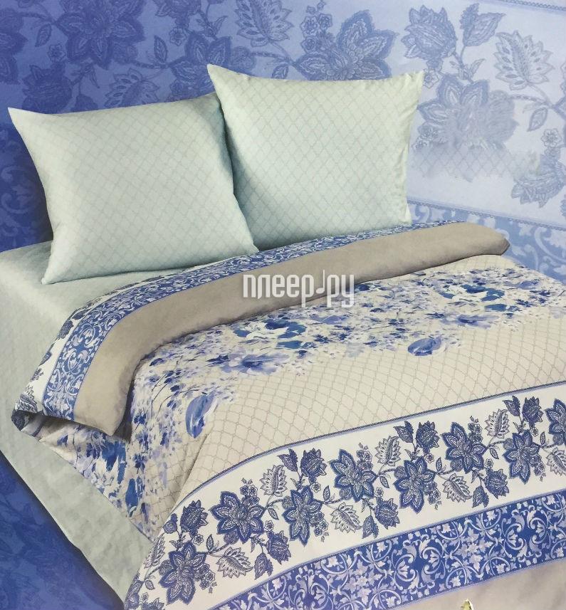 Постельное белье Экзотика 476 Комплект 2 спальный Поплин