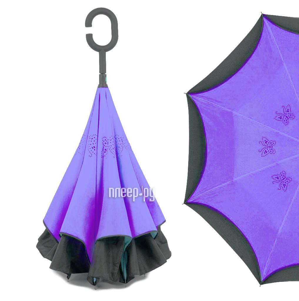 Зонт Зонт Наоборот Butterfly Purple купить