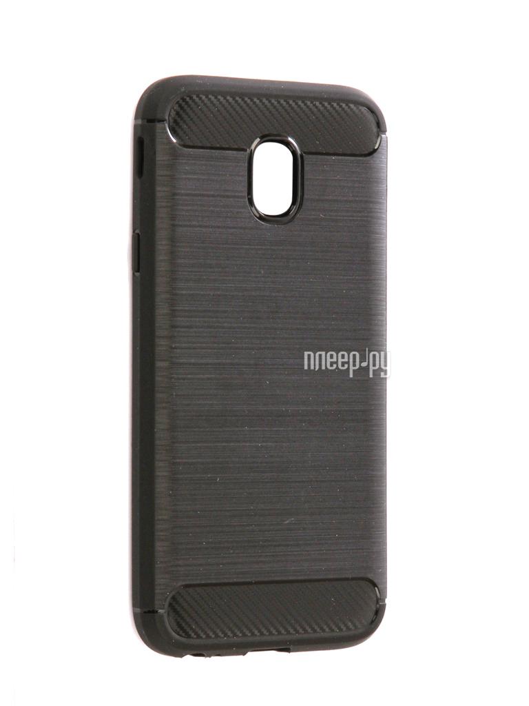 Аксессуар Чехол Samsung SM-J330F Galaxy J3 2017 Zibelino Cover Back Elegant Black ZCBE-SAM-J330F-BLK за 677 рублей