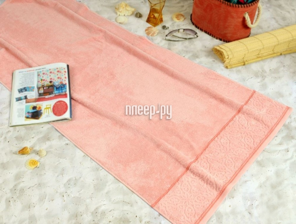 Полотенце Irya Molly 90x150 Peach