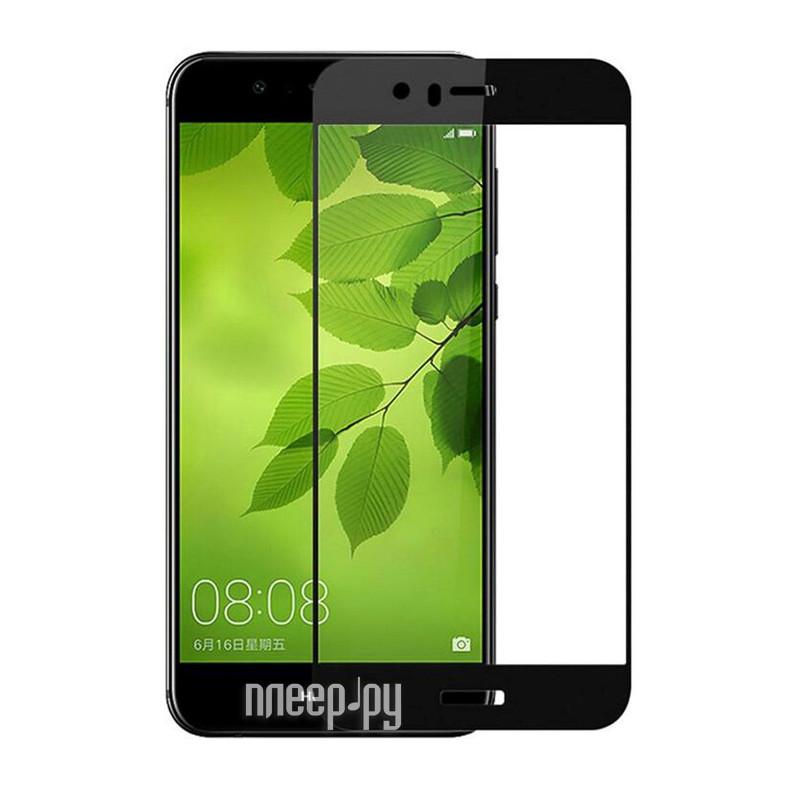 Аксессуар Защитное стекло 2.5D Huawei P10 InterStep IS-TG-HUAP102DB Black 000B202
