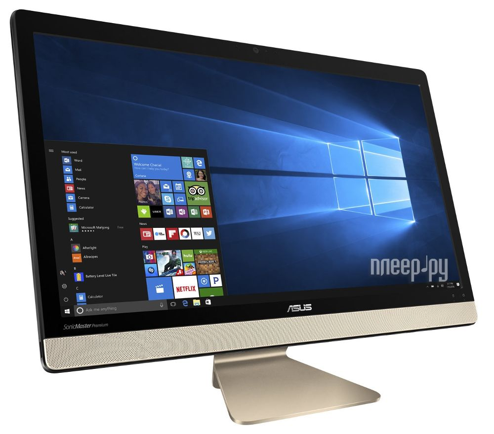 Моноблок ASUS Vivo AiO V221ICUK-BA014R 90PT01U1-M03220 (Intel Core i3-7100U 2.4 Ghz / 4096Mb / 1000Gb / Intel HD Graphics / Wi-Fi / Cam / 21.5 / 1920x1080 / Windows 10) за 40217 рублей