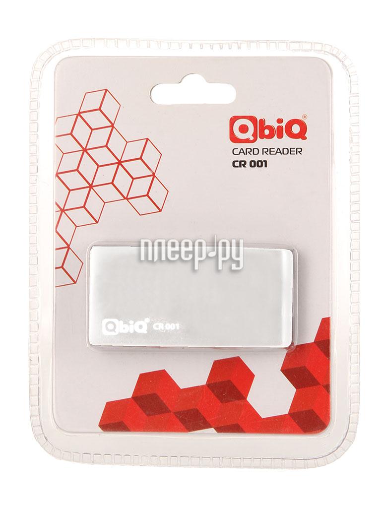 Карт-ридер QbiQ CR-001 card reader White  Pleer.ru  598.000